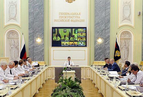 В Генеральной прокуратуре Российской Федерации состоялась коллегия, посвященная итогам работы в первом полугодии 2015 года